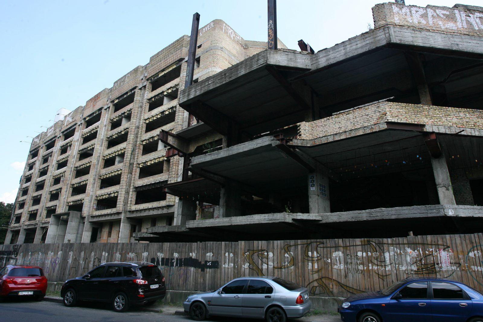 Киев остановил строительство 50 незаконных объектов и демонтировал 5 в 2015