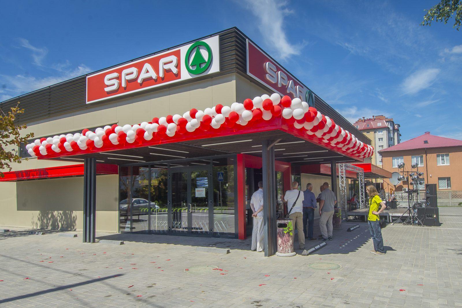 Сеть супермаркетов Spar выходит на рынок Украины