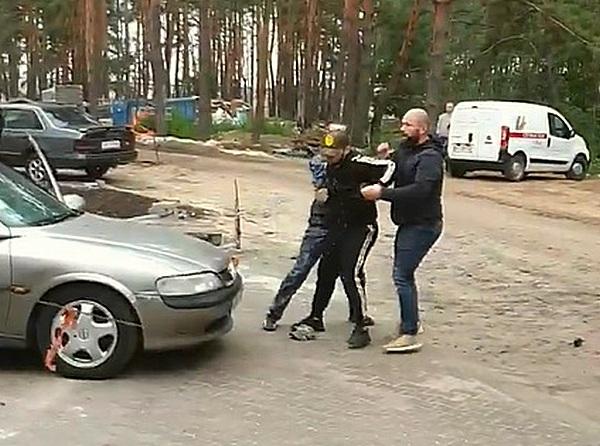 Под Киевом напали на народного депутата