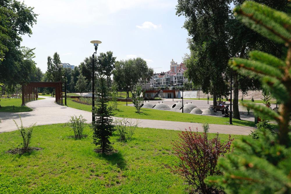 Когда закончат реконструировать парк «Наталка»