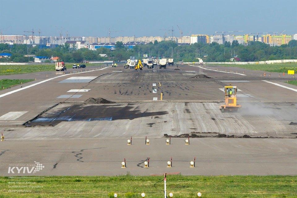 Аэропорт «Киев» закрыли на 10 дней: куда перенесли рейсы