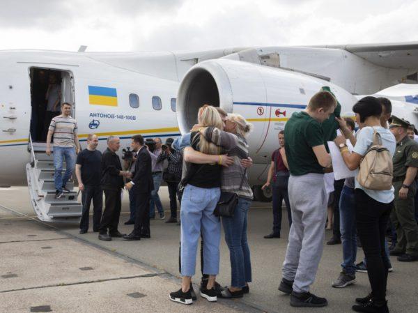 Украинские пленники Кремля вернулись домой (список)
