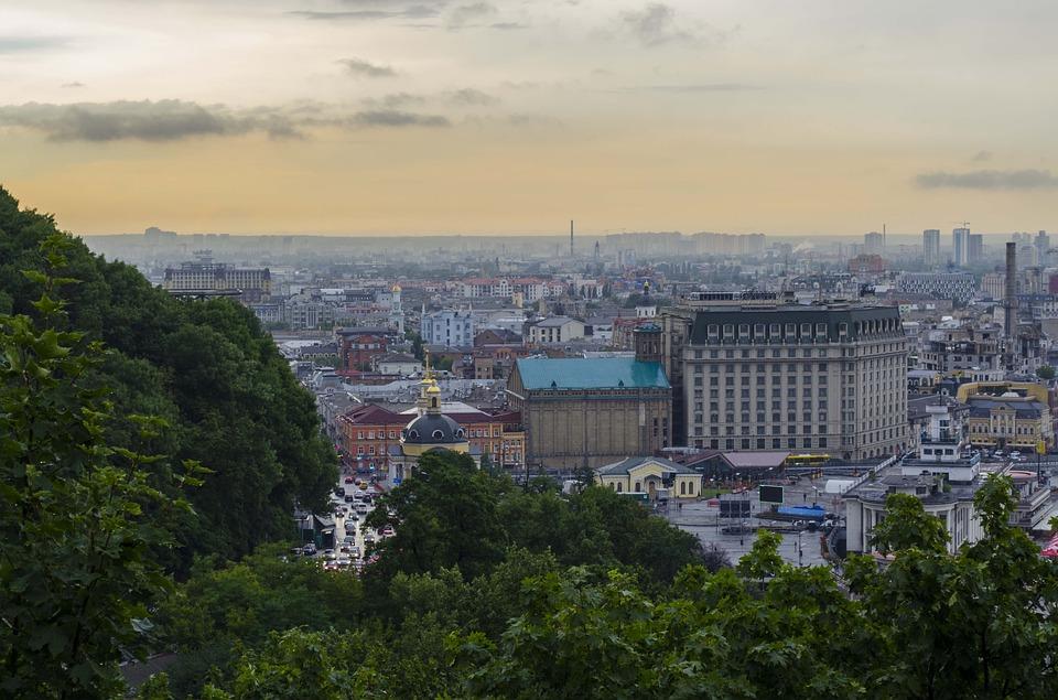 В Киеве небывалый наплыв туристов