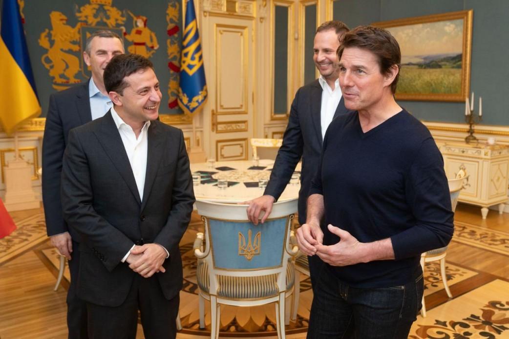 Звезда Голливуда приехал в Киев: у Зеленского рассказали подробности