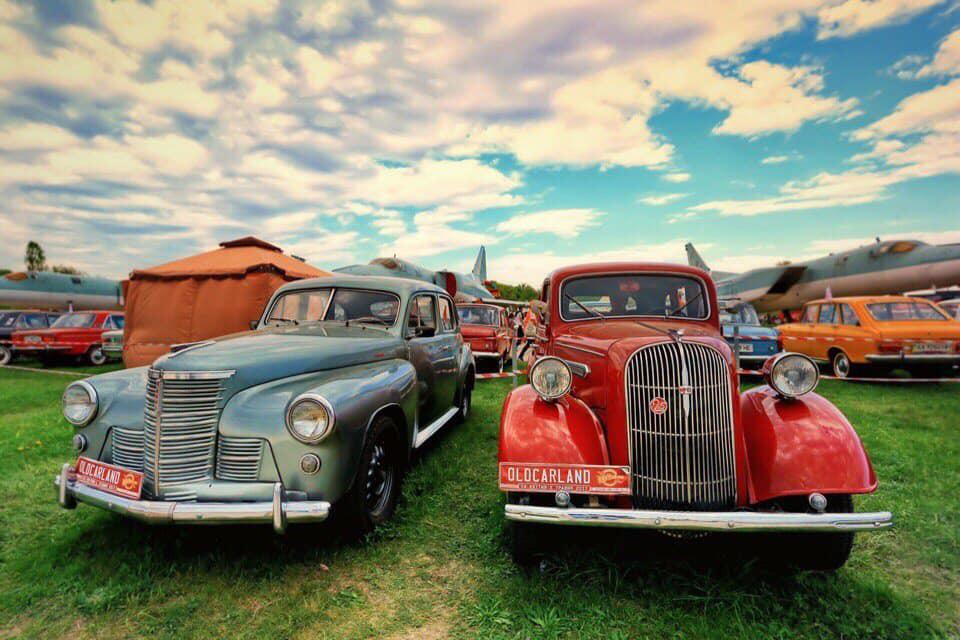 В Киеве пройдет фестиваль Old Car Land: покажут самый мощный КрАЗ и американские изюминки