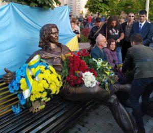 Под Киевом открыли памятник Кузьме Скрябину
