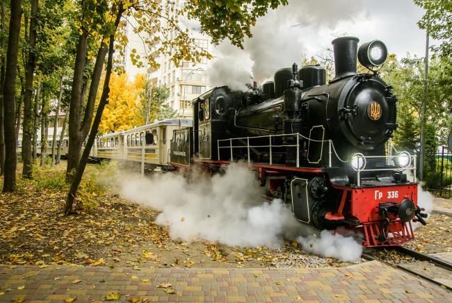 Детская железная дорога набирает юных железнодорожников