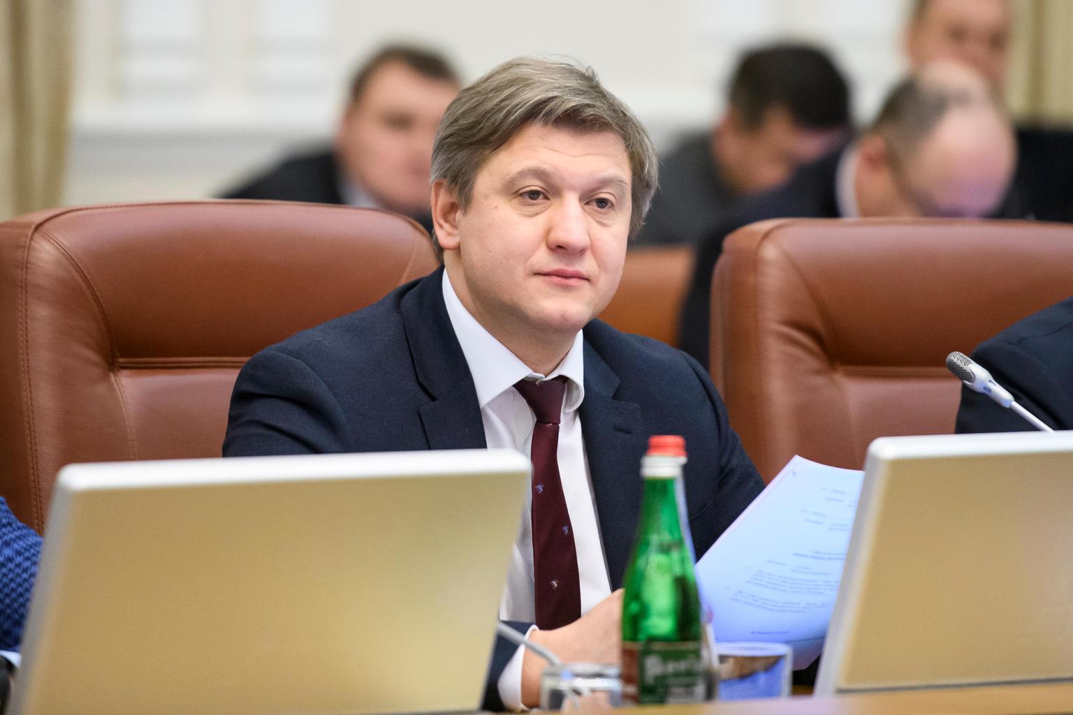 Данилюк объяснил свою отставку