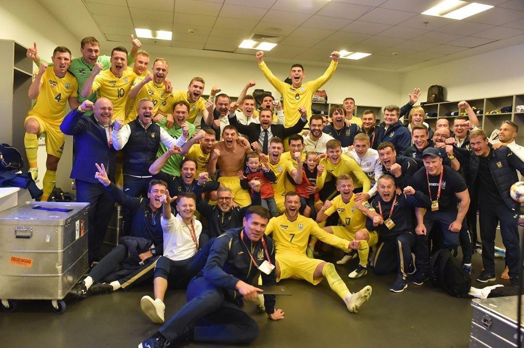 Сборная Украины по футболу досрочно вышла на Евро-2020