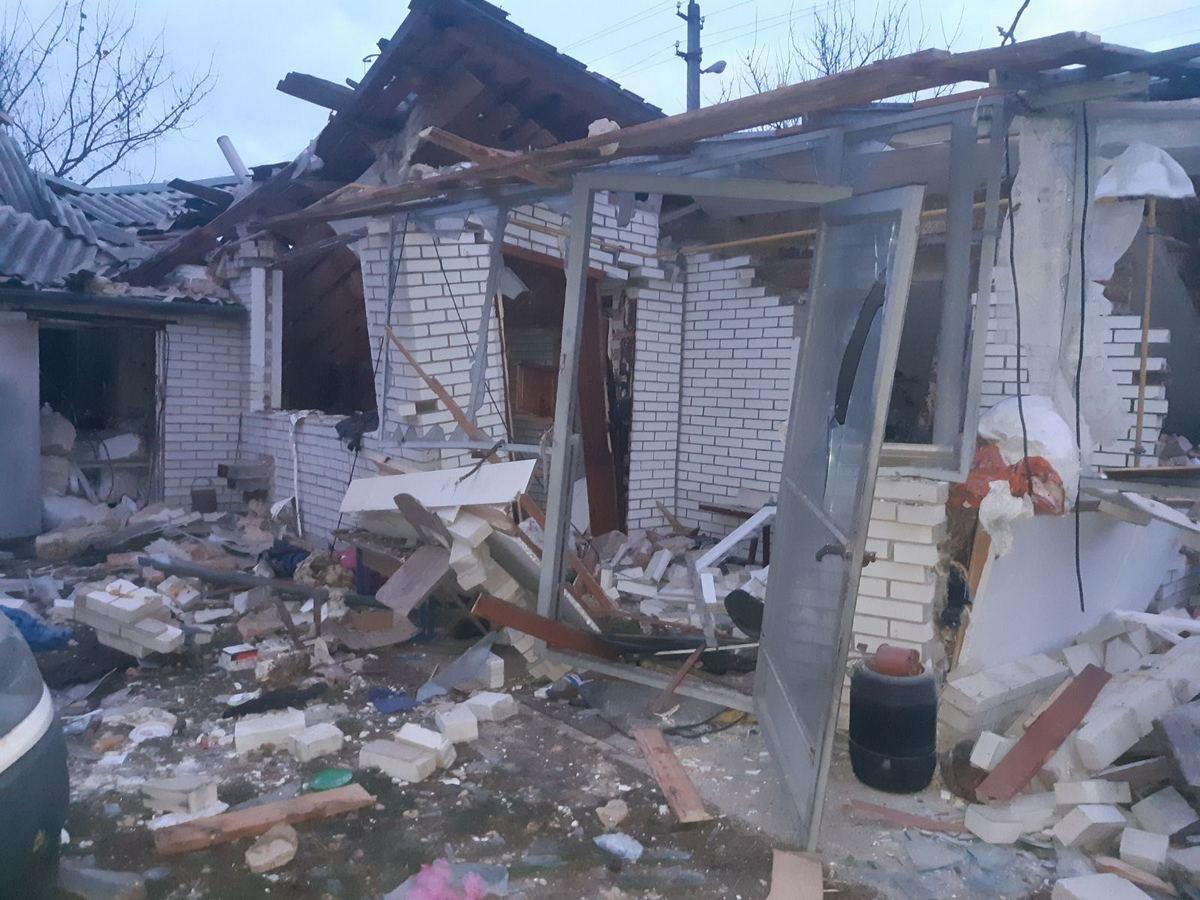 Под Киевом взорвался дом: один человек попал в больницу