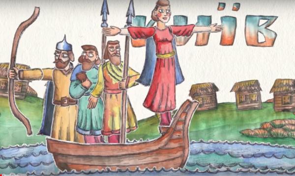 Минкульт выпустил анимационный клип об истории Украины