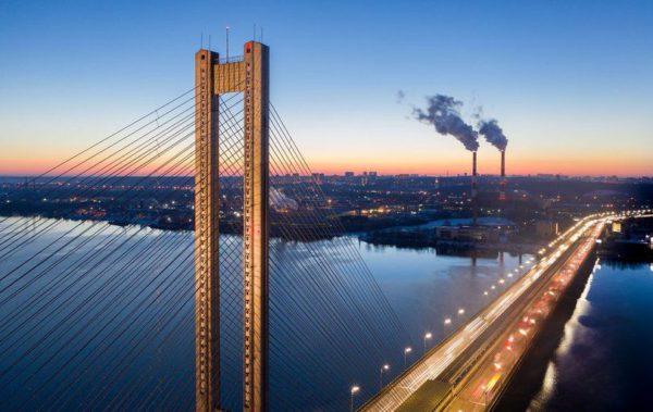 Южный мост будут перекрывать полторы недели