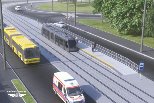 На улице Алматинской построят современную трамвайную остановку