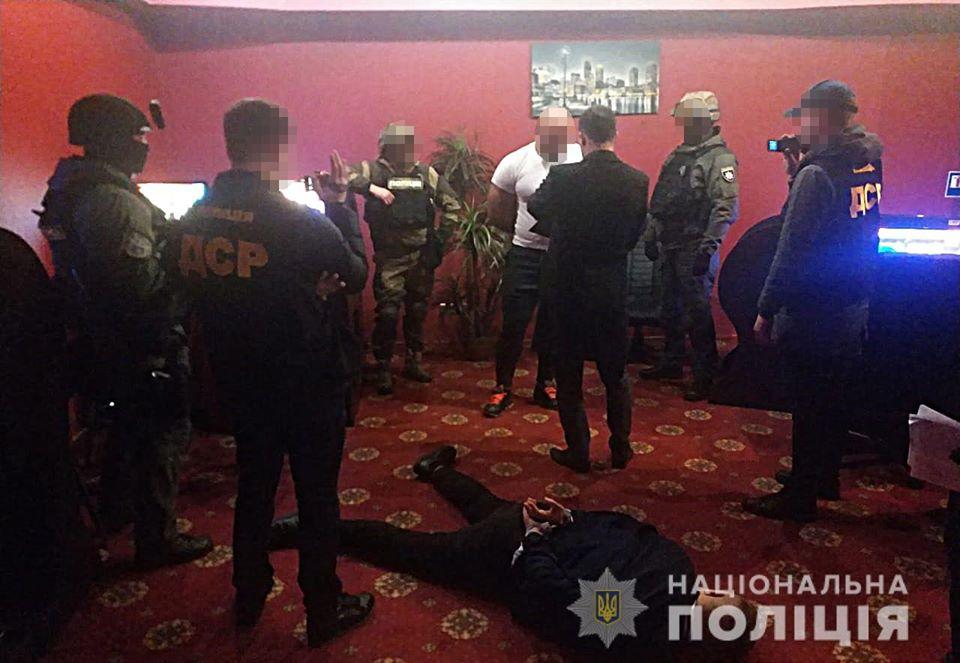 В Киеве накрыли банду «коллекторов»: фото