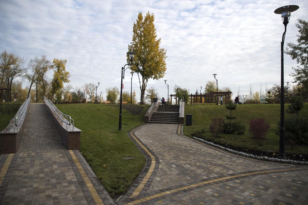 На Оболони открыли третью очередь парка «Наталка»