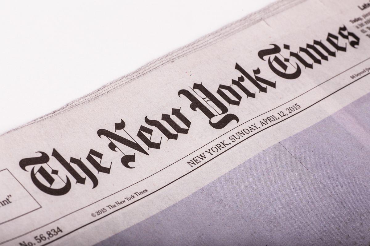The New York Times официально изменила написание названия украинской столицы
