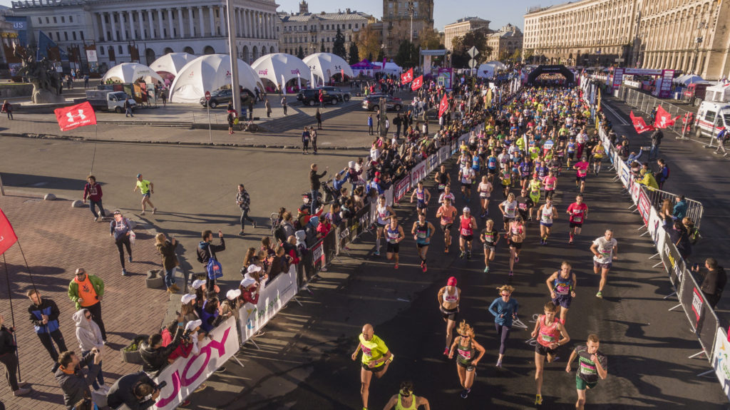 В Киеве состоятся забеги ветеранов АТО
