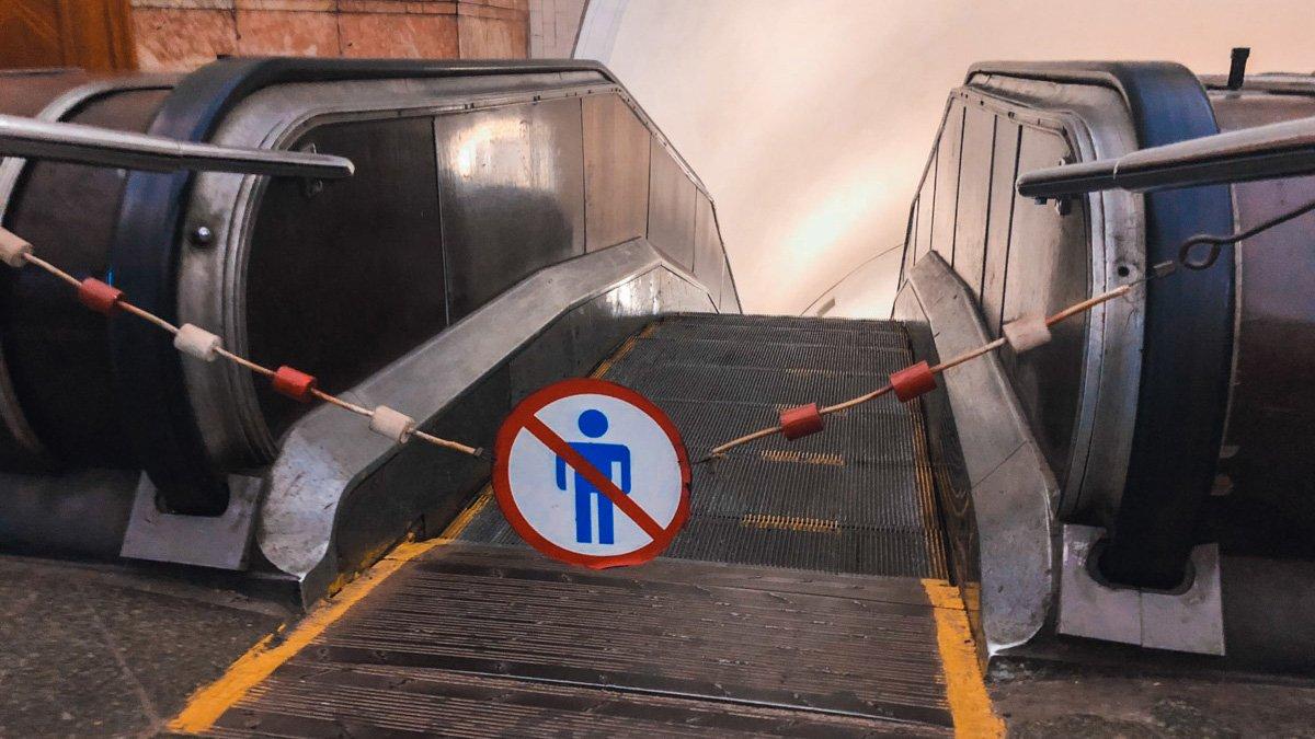 На станции «Майдан Независимости» начинается годовой ремонт