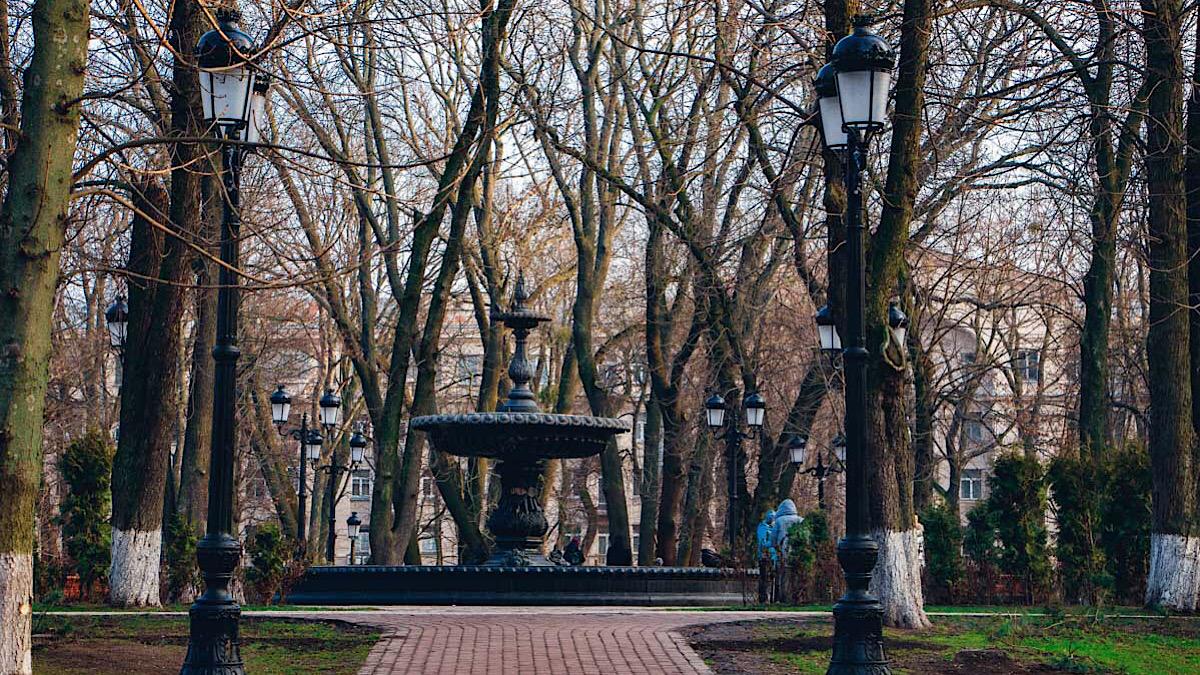 Скандал а Мариинском парке столицы
