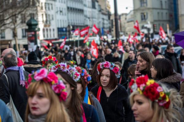 В столице пройдет марш женщин