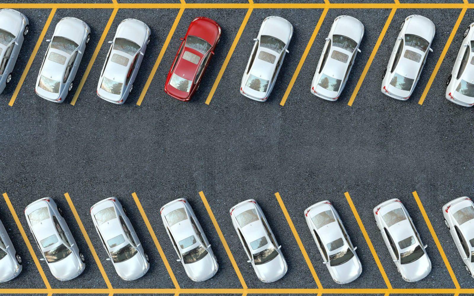 Опубликована карта частных парковок в столице