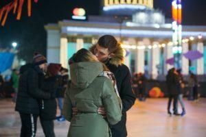 В столице установили любовный рекорд