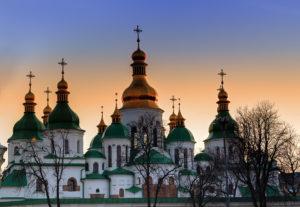 В Софии Киевской собирают уникальный экспонат