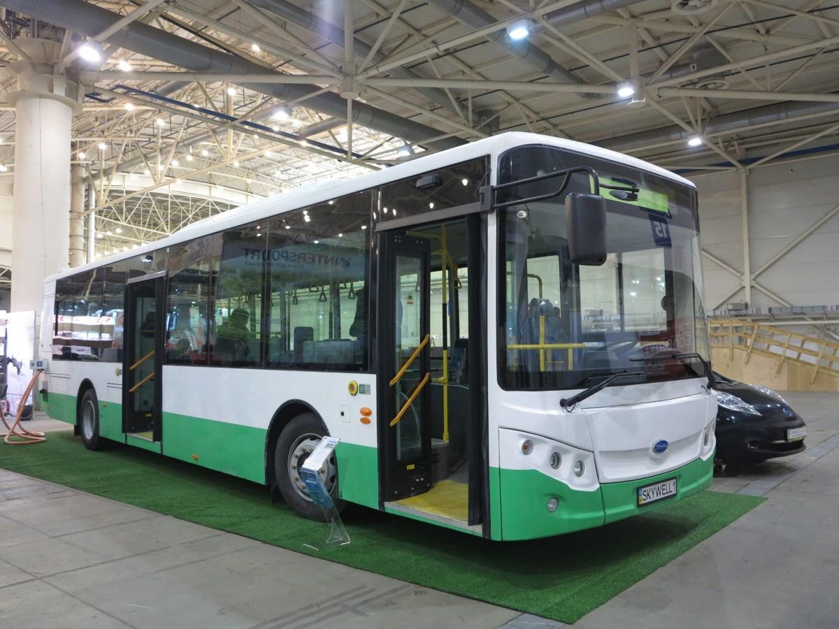 В Киеве появятся экологические автобусы